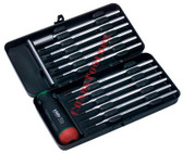 52039 FELO Set 12 Torque Screwdrivers with Precise Adjustment