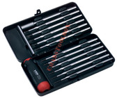 52043 FELO Set 12 Torque Screwdrivers with Precise Adjustment