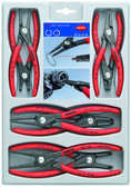 Knipex 00 20 04 SB Circlip Plier 8 pc Set