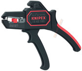 12 62 180 Knipex 7.25 inch SELF-ADJ.INSULATION STRIPPERS - AWG 10-24