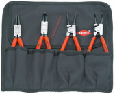 00 19 56 Knipex  4-PC. RETAINING RING PLIERS SET