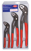 00 20 06 US1 Knipex  3-PC. COBRA PLIERS SET (7, 10, & 12)