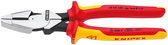 Knipex 09 08 240  HIGH LEVERAGE LINEMANS NEW ENGLAND STYLE - 1,000V *Updated Model