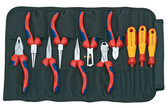 00 19 41 Knipex 11 PLIERS IN TOOL ROLL