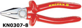 03 07 200 Knipex 8 inch COMBINATION PLIERS - 1,000V