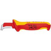 98 55 Knipex 6 inch DISMANTLING KNIFE - 1,000V