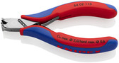 64 02 115 Knipex 4.5 inch ELECTRONICS END CUTTERS