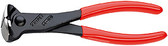 68 01 160 S1 Knipex 6.25 inch END CUTTERS - SPECIAL HARDENING