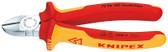 70 06 180 Knipex 7.25 inch DIAGONAL CUTTERS - 1000V