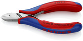 77 02 115 Knipex 4.5 inch ELECTRONICS DIA. CUTTER - COMFORT GRIP