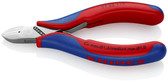 77 22 115 Knipex 4.5 inch ELECTRONICS DIA. CUTTER - COMFORT GRIP
