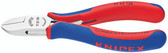 77 22 130 Knipex 5.25 inch ELECTRONICS DIA. CUTTER - COMFORT GRIP