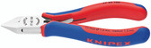 77 42 130 Knipex 5.25 inch ELECTRONICS DIA. CUTTER - COMFORT GRIP