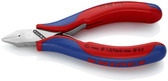 77 52 115 Knipex 4.5 inch ELECTRONICS DIA. CUTTER - COMFORT GRIP