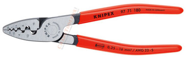 9771 180 Knipex Crimping Pliers for End Sleeves
