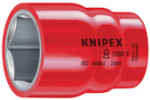 "98 47 27  Knipex Hexagon Socket - 1/2"" Drive"