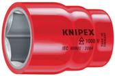 "9847 7/8""  Knipex Hexagon Socket - 1/2"" Drive"