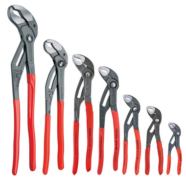 Knipex Complete 7 Pc Cobra Plier set