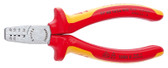 Knipex 97 68 145 A Crimping Pliers for end sleeves (ferrules)