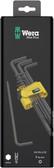 WERA 05133180001 950 PKL/9 SZ N LONG ARM HEX KEY SET