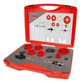 RUKO 106305 Bi-Metal Hole Saw Kit EK1