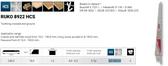 "RUKO 33189225 Recip. Blade, 10 x 3/4"", 5 Tpi Sold Individually"