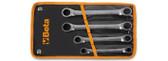 BETA 001959018 195 16X18K-BI-HEX RING WR. IN BLISTER 195 16X18K