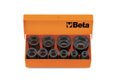 BETA 007100910 710 /C10-10 IMPACT SOCKETS IN CASE 710 /C10