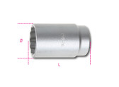 BETA 009690134 969 B34-HUB NUT LOCKING SOCKETS 969 B34