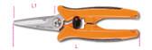 BETA 011300000 1130 BMX-MULTIPURPOSE SCISSORS STRAIGHT 1130 BMX