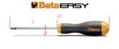BETA 012089025 1208 RTX25K-SCREWDRIVERS IN BLISTER 1208 RTX25K