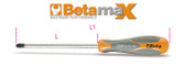 BETA 012990006 1299 PZ2-SCREWDRIVERS FOR CROSS HEAD PZ 1299 PZ2