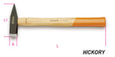 BETA 013700056 1370 600-ENGINEER'S HAMMERS WOODEN SHAFT 1370 600