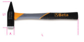 BETA 013700650 1370 T500-MECHANIC'S HAMMERS FIBRE 1370 T500