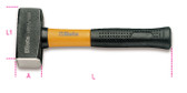 BETA 013800310 1380 T1000-MASON CLUB HAMMERS PLASTIC 1380 T1000