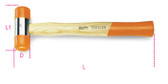 BETA 013900035 1390 35-SOFT FACE HAMMERS WOODEN 1390 35