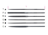 BETA 017200104 1720 D/T-DIAMOND NEEDLE FILES 1720 D/T