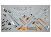 BETA 021150243 2115P L-VU/3-TOOL BOX CP15L + 75 PCS 2115P L-VU/3