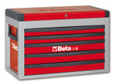 BETA 023000503 C23S R-PORTABLE TOOL CHEST RED C23 S-R