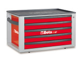 BETA 023000523 C23ST R-PORTABLE TOOL CHEST RED C23 ST-R