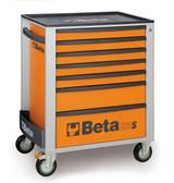 BETA 024002071 C24S 7/O-MOBILE ROLLER CAB 7 DRAW.ORANGE C24S 7/O