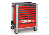 BETA 024002083 C24S 8/R-MOBILE ROLLER CAB 8 DRAWERS RED C24S 8/R
