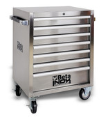 BETA 024003007 C04 INOX-7-MOB. ROLLER CAB 7 DRAWERS C04 INOX-7
