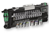 WERA 05056491001 TOOL-CHECK PLUS IMPERIAL BITS ASSORTMENT WITH RATCHET + SOCKETS