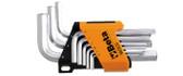 BETA 000961753 96 C-AS/SC9-SET OF 9 OFFSET HEXAGON KEY WRENCHES