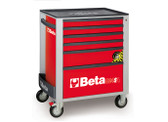BETA 024002163 C24SA 6/R-ROLLER CAB 6 DRAWERS,ANTI-TILT