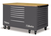 BETA 031000282 C31-G-MOBILE WORKSTATION 28 DRAWERS GREY
