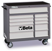 BETA 038000003 C38G-MOBILE ROLLER CAB 11 DRAWERS GREY