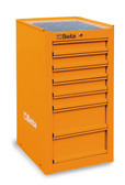 BETA 038000081 C38 LO-SIDE CAB 7 DRAWERS ORANGE
