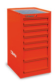 BETA 038000082 C38 LR-SIDE CAB 7 DRAWERS RED
